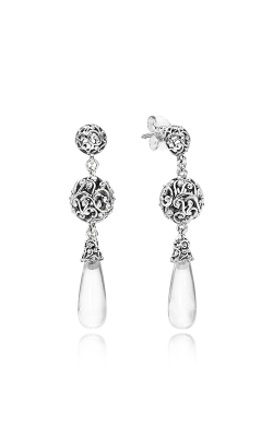 PANDORA Regal Droplets Clear CZ Earrings 297686CZ product image