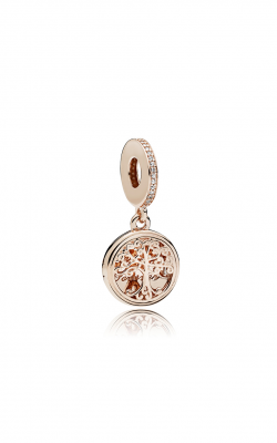 PANDORA  Rose™ Family Roots Clear CZ Dangle Charm 781988CZ product image