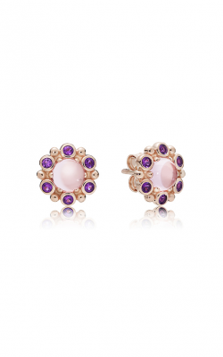 PANDORA Rose™ Heraldic Radiance Pink & Purple Crystals Earrings 287728NPM product image