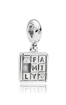 PANDORA Family Game Clear CZ Dangle Charm 797626CZ product image
