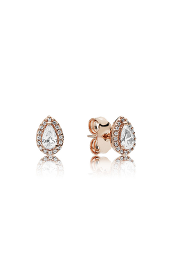 Pandora Rose™ Radiant Teardrops Clear CZ Earrings 286252CZ product image