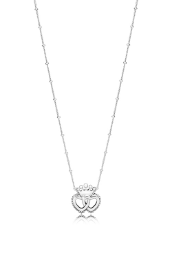 PANDORA United Regal Hearts Necklace 397719-45 product image