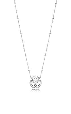 PANDORA United Regal Hearts Necklace 397719-45 product image