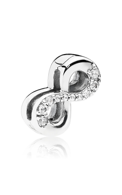 Pandora Reflexions™ Sparkling Infinity Clear CZ Clip Charm 797580CZ product image