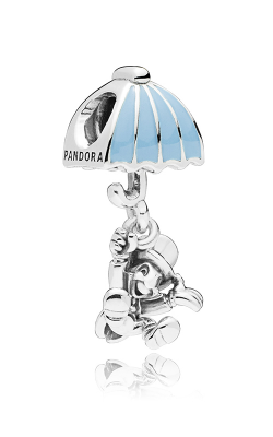 PANDORA Disney Jiminy Cricket Dangle Charm 797492EN41 product image