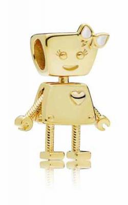 Bella Bot Charm Pandora Shine™ & Silver Enamel 767141EN23 product image