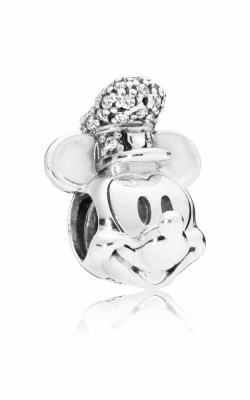 Pandora Disney Shimmering Steamboat Willie Portrait Charm Clear CZ 797499CZ product image