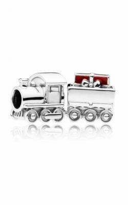 PANDORA Christmas Train Charm Red Enamel 797519EN27 product image