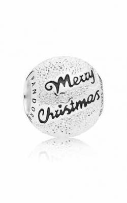 PANDORA Merry Christmas Charm Black Enamel 797524EN16 product image