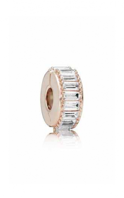 Ice Formation Clip Pandora Rose™ & Clear CZ 787559CZ product image