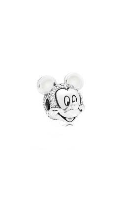 PANDORA Disney Shimmering Mickey Portrait Clip Clear CZ 797495CZ product image