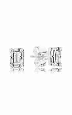 PANDORA Luminous Ice Stud Earrings Clear CZ 297567CZ product image
