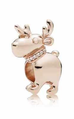 Pandora Rose™ Happy Reindeer Charm Clear CZ 787514CZ (Retired) product image