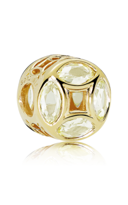 Good Fortune Coin Charm PANDORA Shine™ Sunshine Yellow CZ 767821CSY product image