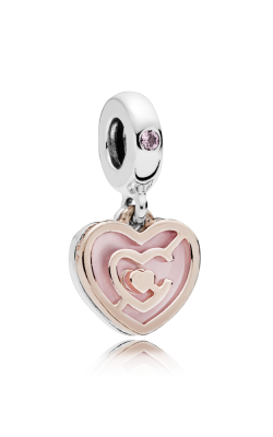 Pandora Rose™ Path To Love Charm Pink Crystal & Enamel 787801NBP product image