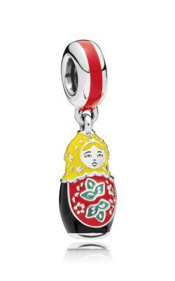 Pandora Matryoshka Doll Charm Mixed Enamel 797834ENMX product image