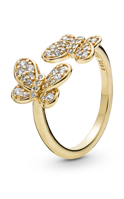 PANDORA Shine™ Dazzling Butterflies & Clear CZ Ring  167913CZ-48 product image