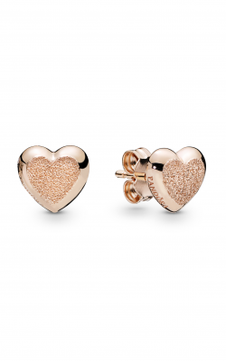 PANDORA Rose™ Matte Brilliance Hearts Earrings 287928 product image