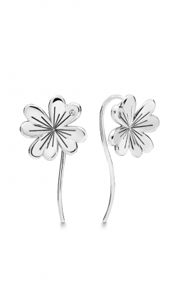 Pandora Lucky Four-Leaf Clover Earrings Clear CZ 297908CZ product image