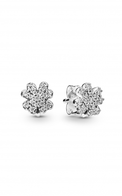 Pandora Radiant Clover Earrings Clear CZ 297944CZ product image