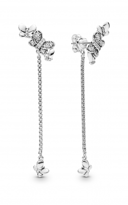 Pandora Bedazzling Butterflies Earrings Clear CZ 297964CZ product image