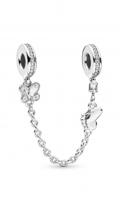 Pandora Decorative Butterflies Safety Chain Clear CZ 797865CZ product image