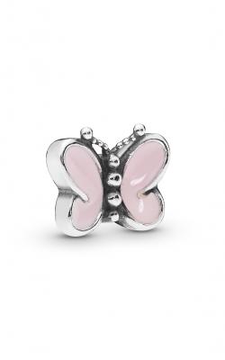 Pandora Pink Butterflies Petite Charm Pale Pink Enamel 797854EN160 product image