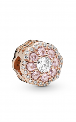 Pandora Rose™ Pink Sparkle Flower Charm Pink Crystals & Clear CZ 787851NPM product image