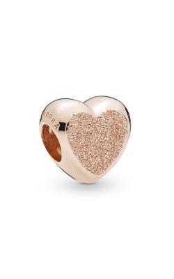 Matte Brilliance Heart Charm Pandora Rose™ 787881 product image