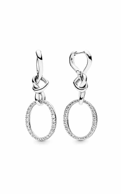Pandora Knotted Heart Dangle Earrings 298110CZ product image
