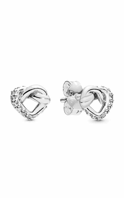 Pandora Knotted Heart Stud Earrings 298019CZ product image