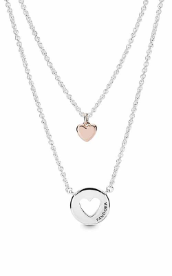 Pandora Rose™ Layered Heart Necklace 388083-50 product image