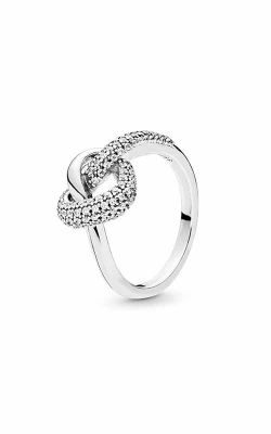 PANDORA Knotted Heart Ring 198086CZ-48 product image