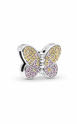 Pandora Reflexions™ Bedazzling Butterfly Clip Charm 797864CZM product image