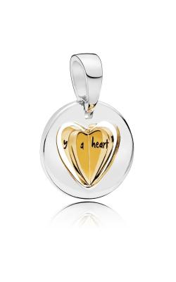 Pandora Shine™ Mom's Golden Heart Dangle Charm 767774 product image