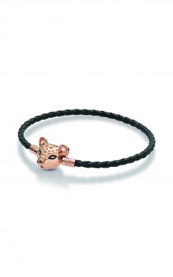Sparkling Lion Princess, Woven Leather Bracelet PANDORA Rose™ 588053CBK-S3 product image