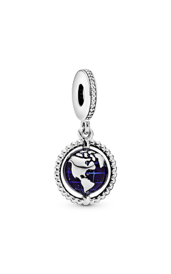 Pandora Spinning Globe Dangle Charm 798021CZ product image