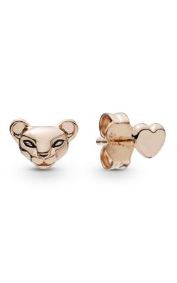 Lion Princess & Heart Stud Earrings Pandora Rose™ 288022EN16 product image