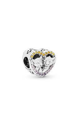 Pandora Disney Sparkling Simba & Nala Heart Charm 798044NPRMX product image