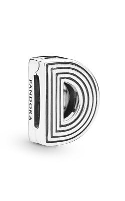 Pandora Reflexions™ Letter D Clip Charm 798200 product image
