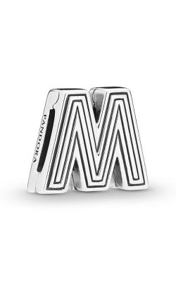 Pandora Reflexions™ Letter M Clip Charm 798209 product image
