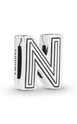 Pandora Reflexions™ Letter N Clip Charm 798210 product image