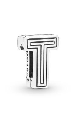 Pandora Reflexions™ Letter T Clip Charm 798216 product image