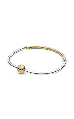 Moments Three-Link PANDORA Shine™ Bangle Bracelet 568143-19 product image