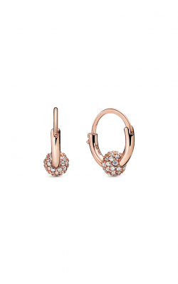 Pandora Rose™ Pavé Bead Hoop Earrings 288294CZ product image