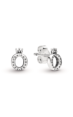 Pandora Polished Crown O Stud Earrings 298295 product image