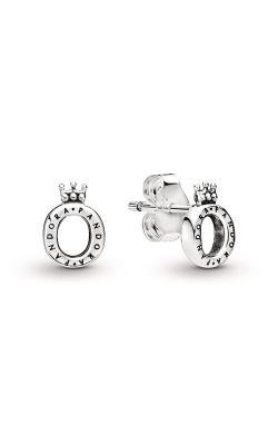 Pandora Polished Crown O Stud Earrings 298295 product image