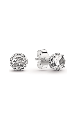 Pandora Clear Sparkling Crown Stud Earrings 298311CZ product image