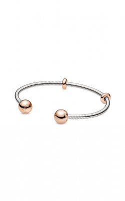 Pandora Rose™ Moments Snake Chain Style Open Bangle 588291-1 product image