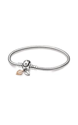 Pandora Moments Leaves & Snake Chain Bracelet 588333CZ-16 product image